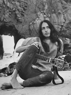 Listen to music from Joan Baez like Diamonds And Rust, The Night They Drove Old Dixie Down & more. Find the latest tracks, albums, and images from Joan Baez. Joan Baez, Acoustic Guitar Lessons, Guitar Songs, Guitar Chords, Acoustic Guitars, Guitar Art, Tomboy Look, Tomboy Style, Beatnik Style