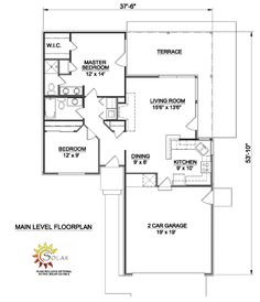 First Floor Plan of Traditional   House Plan 94303