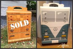Sold by Treasured Thriftique, LLC. Refinished by New Old Finds.