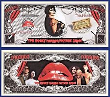 10-Rocky Horror Picture Show Dollar Bills movie Collectible- FAKE- MONEY-E2