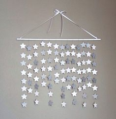 Twinkle twinkle little star Diy For Kids, Crafts For Kids, Diy Crafts, Star Decorations, Christmas Decorations, Streamer Decorations, Paper Garlands, Deco Dyi, Decoration Vitrine