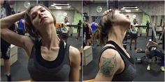 Как снять напряжение в шее и предотвратить появление боли - Лайфхакер Fitbit, Stretches, Bra, Hair Styles, Beauty, Fashion, Flexibility, Beleza, Moda