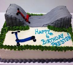 Scooter Cake - Grandin Bakery