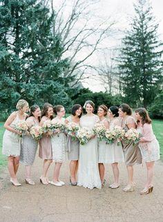 Missouri Wedding from Austin Warnock Photography, Bride entirely in BHLDN