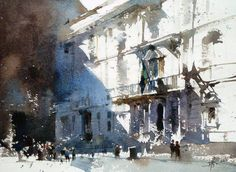 Watercolors by Chien Chung Wei