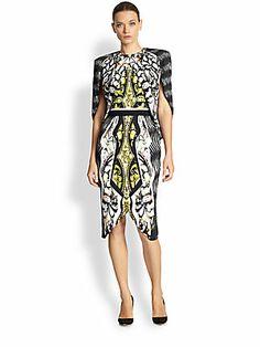 Ready for London Fashion Week?  London Designer - Peter #Pilotto Arrow Dress