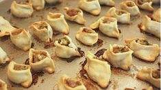 Armenian Manti Recipe: Baked, Open Dumplings with Lamb or Beef Try this delicious recipe for Armenian manti, baked little open dumplings stuffed with lamb or beef, and served with a yogurt sauce in broth. Armenian Manti Recipe, Armenian Recipes, Lebanese Recipes, Greek Recipes, Armenian Food, Arabic Recipes, Turkish Recipes, Good Food, Yummy Food