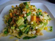Ruokaisa juusto-pastasalaatti Sprouts, Potato Salad, Food And Drink, Potatoes, Baking, Vegetables, Ethnic Recipes, Dips, Eat