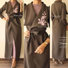 70 Ideas Dress Hijab Casual Cardigans Source by hijab Trendy Dresses, Modest Dresses, Modest Outfits, Dress Outfits, Casual Dresses, Abaya Fashion, Muslim Fashion, Modest Fashion, Fashion Dresses