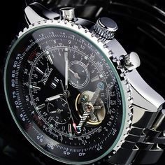Luxury Man's Elegant Men 3 Colors Dial Man Automatic Mechanical Men's Gift Watch | eBay