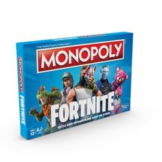 Instead of Monopoly money, players earn Health Points (HP). It's not about what players own; it's about how long they can survive. Monopoly Fortnite From Hasbro Gaming. Monopoly Money, Monopoly Board, Monopoly Game, Monopoly Party, Family Boards, Family Board Games, Kids Board, Board Game Pieces, Adult Party Games