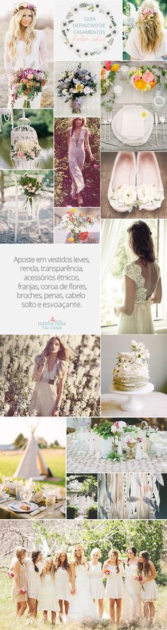 boho chic wedding moodboard Goodness it will hide all bulges well