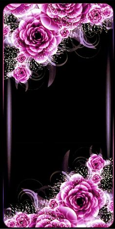By Artist Unknown. Beautiful Wallpaper For Phone, Flower Phone Wallpaper, Heart Wallpaper, Purple Wallpaper, Butterfly Wallpaper, Cellphone Wallpaper, Pretty Wallpapers, Galaxy Wallpaper, Iphone Wallpaper