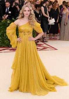 Amanda Seyfried at The Met Gala 2018