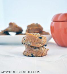 Flourless Pumpkin Cookies (vegan, gluten free)