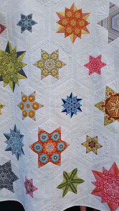 Elven Garden Quilts: Bloggers Quilt Festival - Galaxy