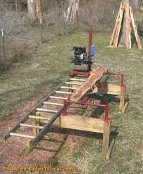 Chainsaw Mill PLANS Build a 400 Sawmill Complete Chainsaw Mills Chainsaw Mills Lumber Mill, Wood Mill, Woodworking Jigs, Woodworking Projects, Green Woodworking, Outdoor Projects, Wood Projects, Chainsaw Mill Plans, Portable Saw Mill