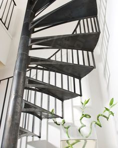 Dh11 spir 39 d co caisson escalier ext rieur m tallique for Profondeur marche escalier standard