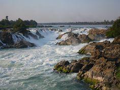 http://www.asia-myway.com/french-market/laos.html#countryTab3  La chutes de Khone, dans le sud du Laos.