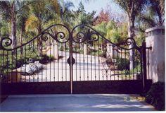 Entrance Gates Texas | Custom Gates, Decorative Wrought Iron, Fencing | Mesa, Az   ..rh