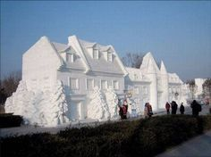 Quebec City ....Snow Sculptures