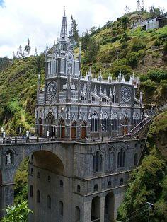 Santuario de las Lajas, departamento de Nariño, Colombia