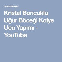 Kristal Boncuklu Uğur Böceği Kolye Ucu Yapımı - YouTube