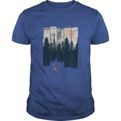 A Fox in the Wild Lifestyle Tshirts and Hoodie T-Shirts, Hoodies, Sweaters