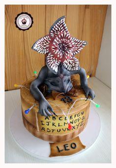 Brithday Cake, My Birthday Cake, Stranger Things Demogorgon, Cake Craft, Dessert Decoration, Disney Cakes, Party Entertainment, Bake Sale, Amazing Cakes