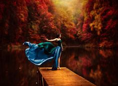 Untitled by Светлана Беляева  Stunning color and exquisite painterly feel to this.