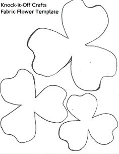 Paper Flower Stencil - Bing Images