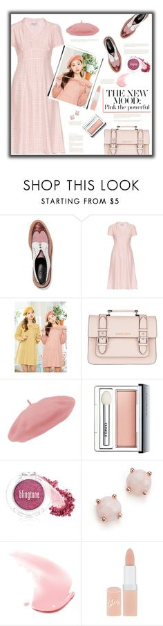 """""""Pink the Powerful"""" by fassionista ❤ liked on Polyvore featuring Robert Clergerie, HVN, Armani Jeans, Clinique, myface cosmetics, Ippolita, Clarins, Rimmel, Pink and LIPSTICK"""