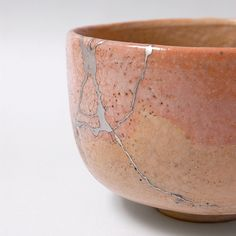 Kintsugi - also known as Kintsukuroi is the Japanese art of repairing broken pottery with lacquer dusted or mixed with powdered gold, silver, or platinum... It treats breakage and repair as part of the history of an object, rather than something to disguise.  ~Wikipedia