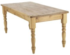 Honeysuckle Painted Pine 4ft 6 Farmhouse Dining Table-PAINT ANY COLOUR FROM ANY PAINT SUPPLIERS