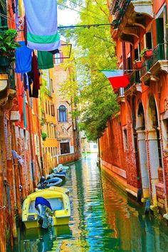 Canal de Venecia