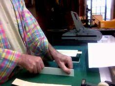 Boxmaking: Preparing the spine