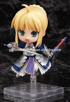 saber 10cm Fate Stay Night PVC Anime Figure , Cartoon Figure, View Fate Stay Night, donnatoyfirm Product Details from Guangzhou Donna Fashion Accessory Co., Ltd. on Alibaba.com