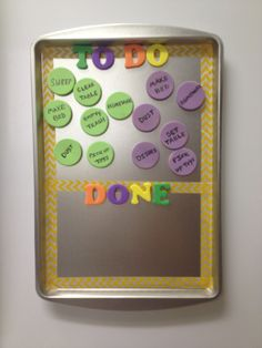Cute chore chart for 4-6 year olds