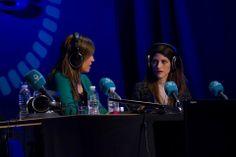 Días de #Radio 2014 en #EscuelaCES con #SandraBarneda
