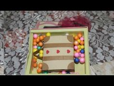 Mini Suitcase Match Box Message By Neet's Creations - YouTube