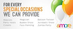 Fatzo Party Factory offers you party solutions!  Call now for bookings!  Click for more info >> http://party.fatzo.com.ph/ #fatzolechon #partyfactory #parties #birthdays #balloons