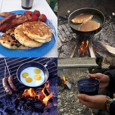 What's your most favorite camping breakfast? On the campfire or in your RV... it's the best time of morning when you're outdoors, agree? Click for recipes...
