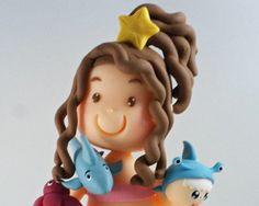 Topo Das Princesas Do Mar.