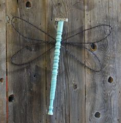 Dragonflies made using re-purposed materials. Just about anything can… :: Hometalk