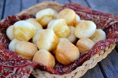 Brazilian Cheese Puffs with Cacique Ranchero Queso Fresco