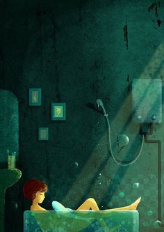 çizgili masallar: Twilight World by Xiao Huang (my new favorite artist)