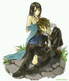 Final Fantasy VIII Rinoa and Squall