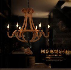 gratis nippen luminaria restaurant led verlichting bar cafe woonkamer verlichting retro hennep touw kroonluchter lamp slaapkamer verlichting abajur in Noot:Al onze transport verpakking, alle dozen met dikke foam, buiten alle met rubberen afdichting, kunnen worden verzond van hanglampen op AliExpress.com | Alibaba Groep