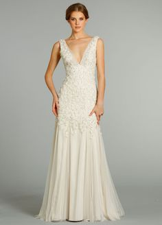Jim Hjelm Bridal Gowns, Wedding Dresses Style jh8265 by JLM Couture, Inc.