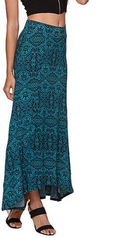#PacSun                   #Skirt                    #Nollie #Teal #Tribal #Flat #Front #Skirt #PacSun.com                         Nollie Teal Tribal Flat Front Skirt at PacSun.com                             http://www.seapai.com/product.aspx?PID=1185169